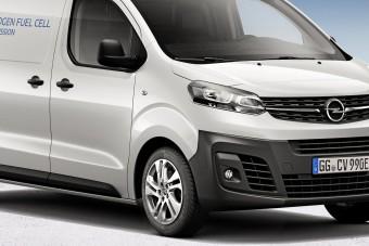 Fifikás furgont épített az Opel