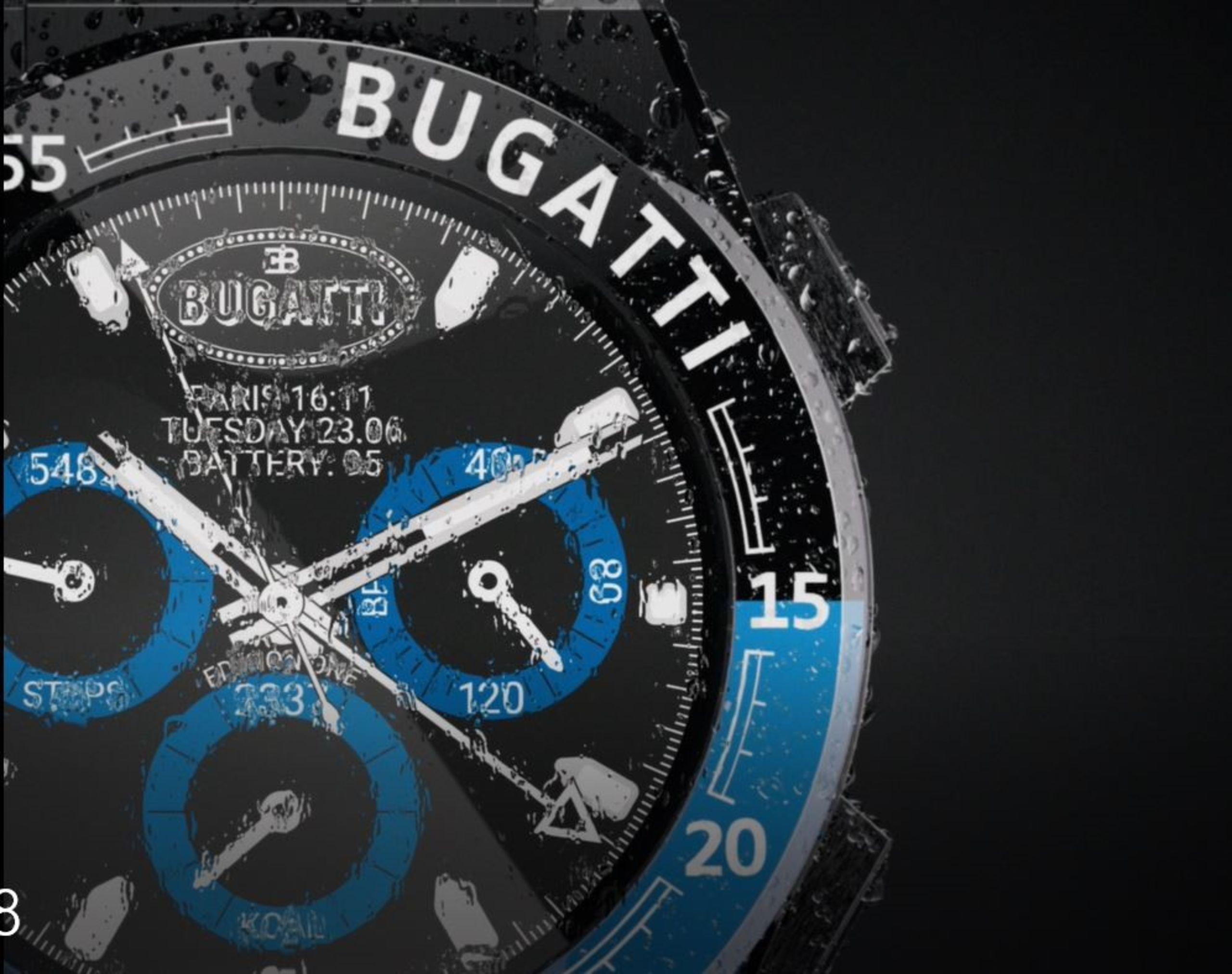 Nemesi szintre emeli az okosórákat a Bugatti 2