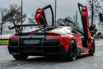 Ritka és méregdrága Lamborghini eladó Budapesten