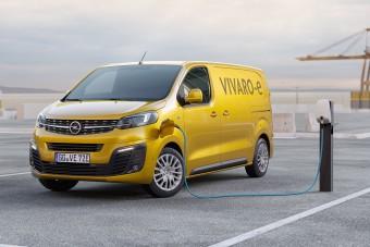 Már rendelhető az elektromos Opel Vivaro itthon