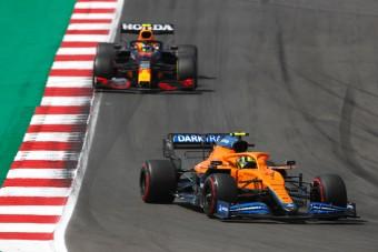 F1: Norris boldog, megtartotta a harmadik helyet