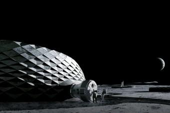 Nyomtatóval építkeznének a Holdon