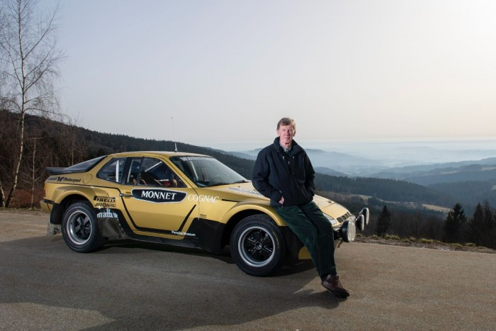 Walter Röhrl was able to beat him with his 40-year-old race car 7