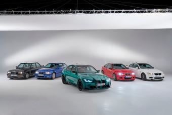 Így alakult át a BMW M3 hat generáción keresztül