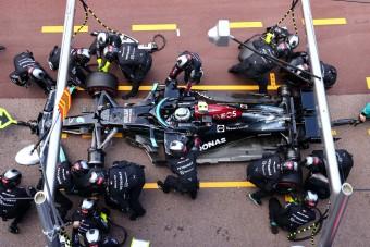 F1: Ezért esett ki Bottas Monacóban