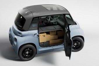 Mikroszkopikus furgont épített a Citroën