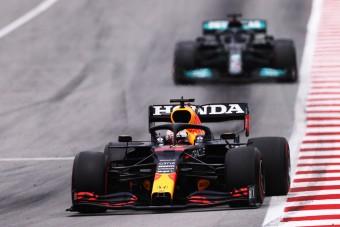 F1: Hamilton Verstappen mögött is tanult