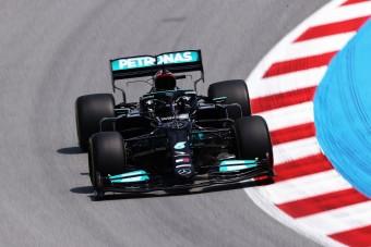 F1: Mercedes-előny Barcelonában, a Red Bull sehol