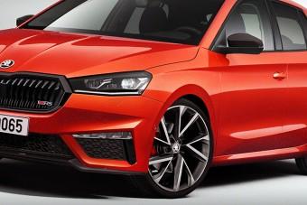 Az új Škoda Fabia is megkapta az RS változatot, legalábbis virtuálisan