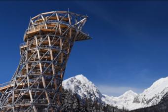 A Tátrában megnyílt Európa egyik legmagasabb kilátója