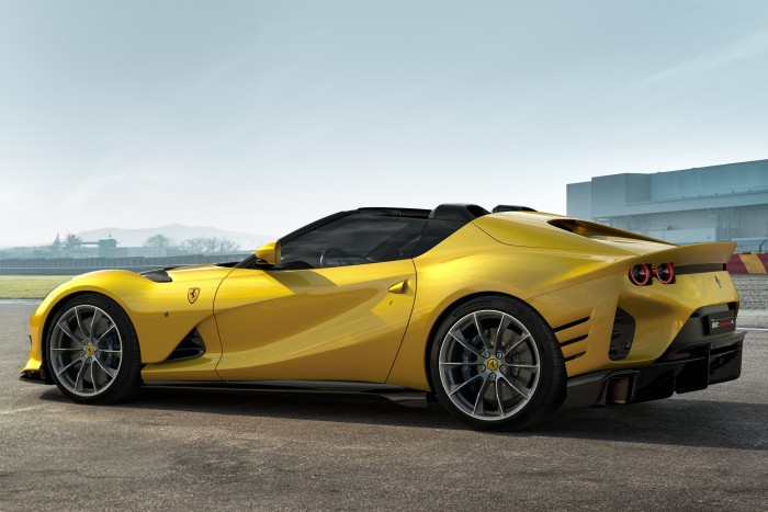 The V12 Ferrari 2 became more perfect in every detail