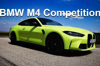 Videón mutatjuk, milyen az 510 lóerős BMW M4 Competition