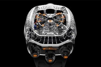 Rogyásig pakolták gyémánttal a Bugatti óráját