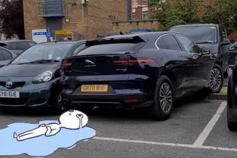 Az év eddigi legcsúnyább parkolási bakiját mutatta be egy józan férfi