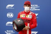 F1: Megmenekült Leclerc, a Ferrarié maradt az első rajtkocka 2