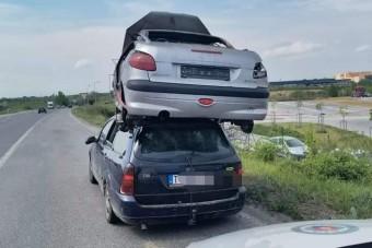 A rendőrök álla is leesett, amikor meglátták a szlovák autós szállítmányát
