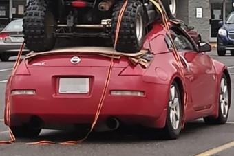 Koppan az állad, ha meglátod, mire használtak egy Nissan 350Z-t