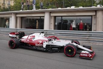 Hivatalos, marad az Alfa Romeo a Forma-1-ben