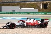 F1: Saját fia égette le Räikkönent 1