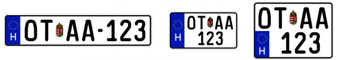 Jön az új rendszám, ez válthatja a három betű-három szám kombinációt 2