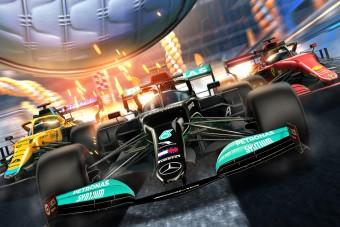 Már az F1-esek is autósfociznak