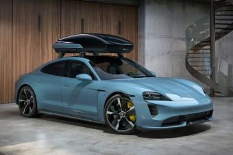 Űrkorszakbeli tartozékot kap a Porsche villanyautója