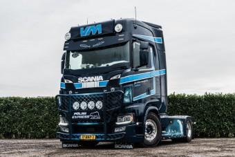 Hűvös borzongást idéz meg ez a Scania