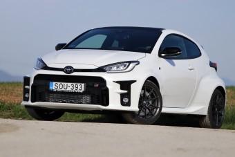 Toyota, ami letépi a fejed - Yaris GR-Four