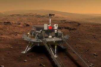 Kilenc perc terror után Kína megérkezett a Marsra