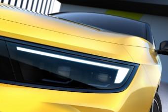 Részletfotókon a vadonatúj Opel Astra