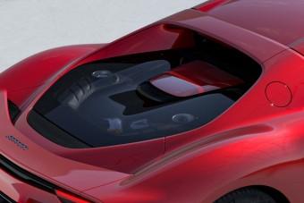 Hathengeres hibridet mutatott be a Ferrari