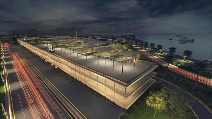Une voie des stands hypermoderne sera construite sur la nouvelle piste F1 3