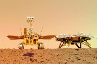 Kitették a kínai zászlót a Marsra
