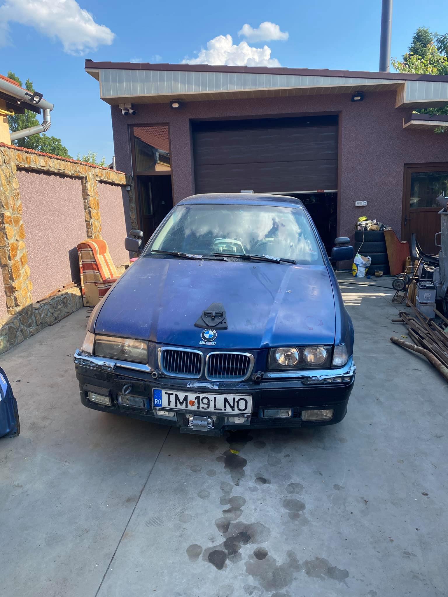 Ez az öreg BMW E36 mutatja, milyen csúf véget érhetnek klasszikus típusok 1