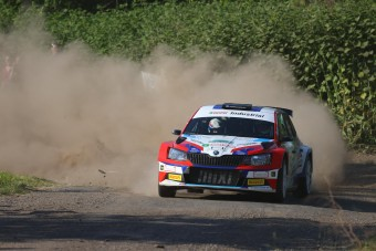 Új győztes a Salgó Rallyn