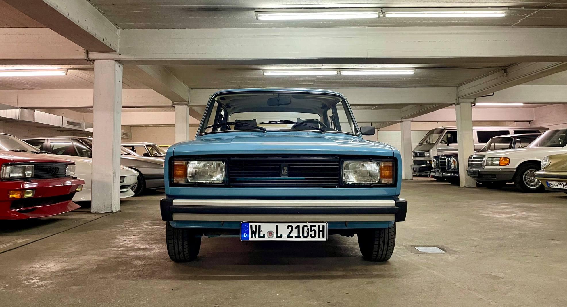 Ez a kék kocka-Lada komoly áron kelleti magát a német használtautó-piacon 2