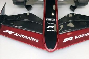 Első képeken a teljesen új, 2022-es F1-es autó