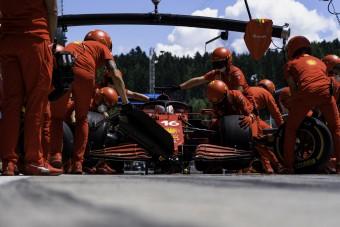 F1: Lemondott a harmadik helyről a Ferrari