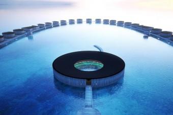 Utánozhatatlan luxussal várja vendégeit a Maldív-szigeteken nyíló új Ritz-Carlton szálloda