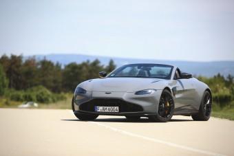 Ha én James Bond lennék... - Aston Martin Vantage Roadster