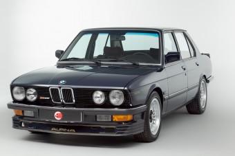 Kívánatos veterán ez az Alpina tuningos 5-ös BMW
