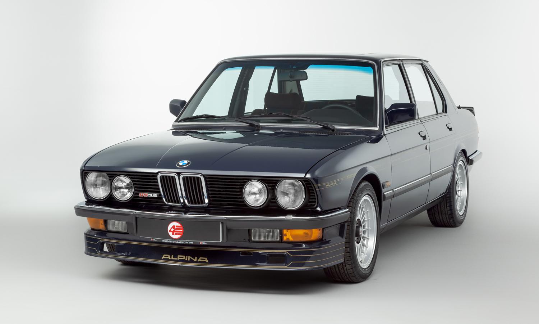 Kívánatos veterán ez az Alpina tuningos 5-ös BMW 1