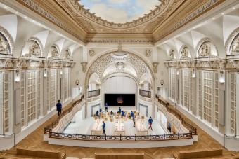 Százéves színházból csinál mobilboltot az Apple