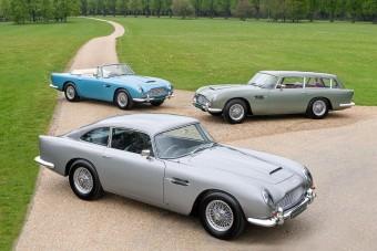 1,6 milliárdba kerül ez a csokor Aston Martin, és így is olcsó
