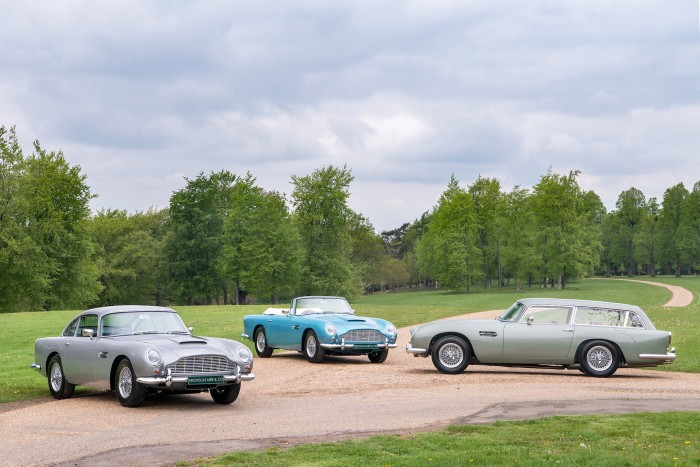 This bunch of Aston Martin costs 1.6 billion and is still cheap 6