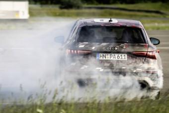 Akár egykerék-hajtásra is képes lesz az új Audi RS3