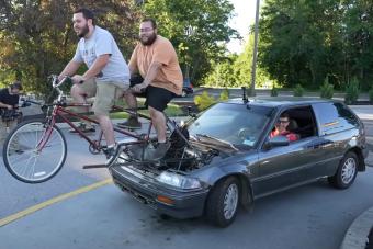 A bringává alakított Hondától ledobtuk a láncot