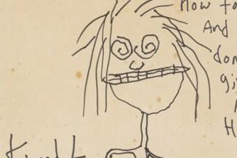 28-szoros pénzt fizettek Kurt Cobain firkájáért