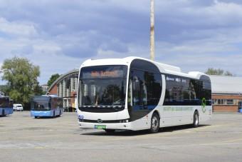 Szerdától hazai gyártású e-busszal utazhatunk