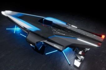 Futurisztikus hajókkal versenyeznek a vízi Forma-E-ben